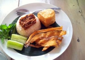 Nasi Sambal Ikan Peda yang super traditional dan enak!